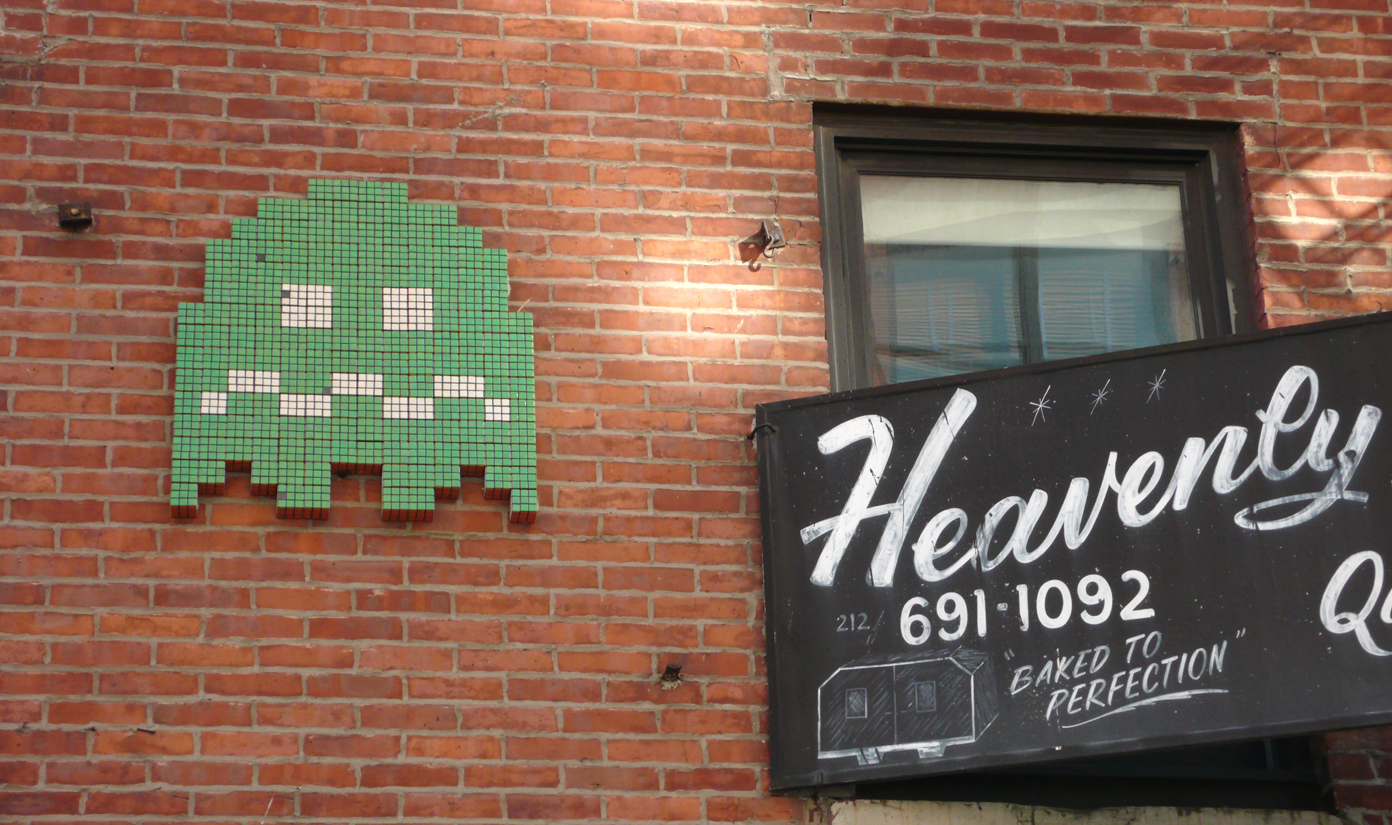 Heavenly Invasion Space Invader