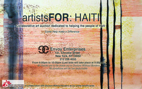 Artists for: Haiti - Doctors Without Borders
