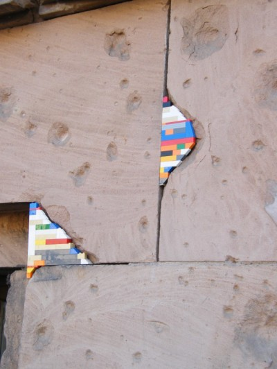 Patching a Berlin Wall (Dispatchwork)