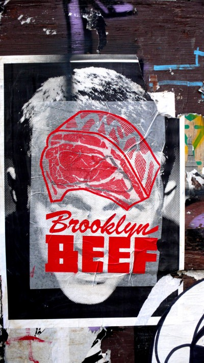 Brooklyn Beef on a bed of Steve McQueen Skewville
