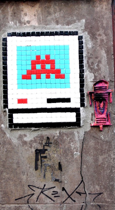 Space Invader and Stickman
