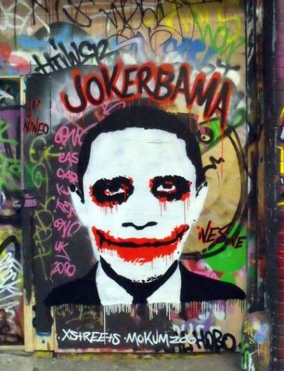 """Jokerbama"" by Ives One (photo courtesy the artist)"