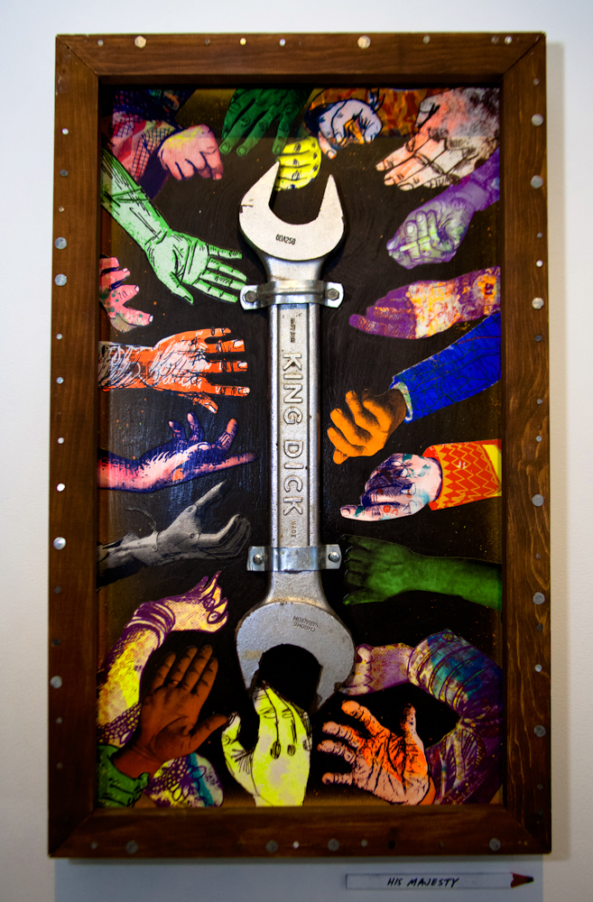 Many hands make the work easier (Various & Gould) © Vincent Cornelli