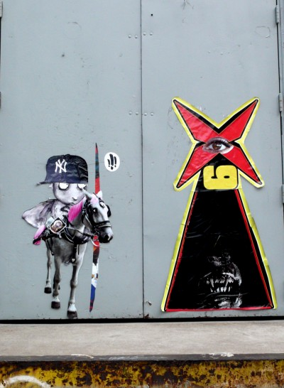 "Poster Boy take on ""Don Quijote"" Cervantes master piece"