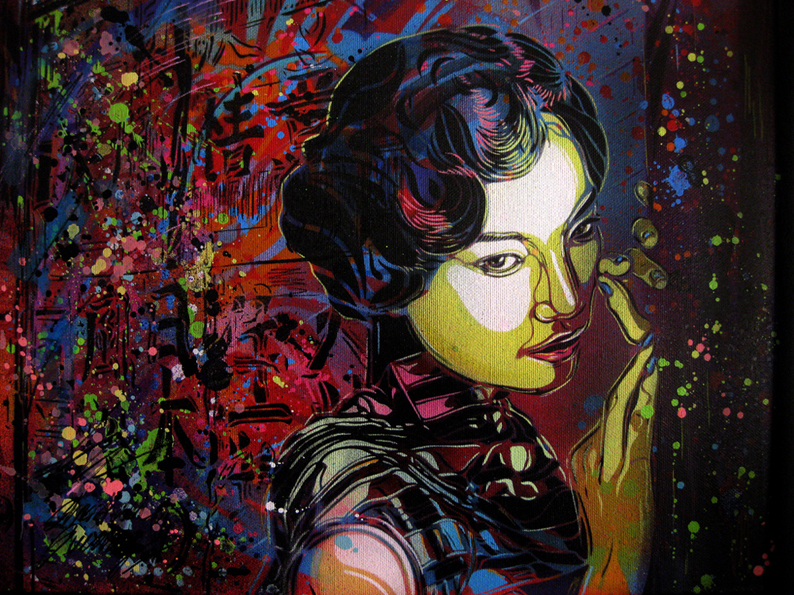 """In the Mood for Love"" by C215"