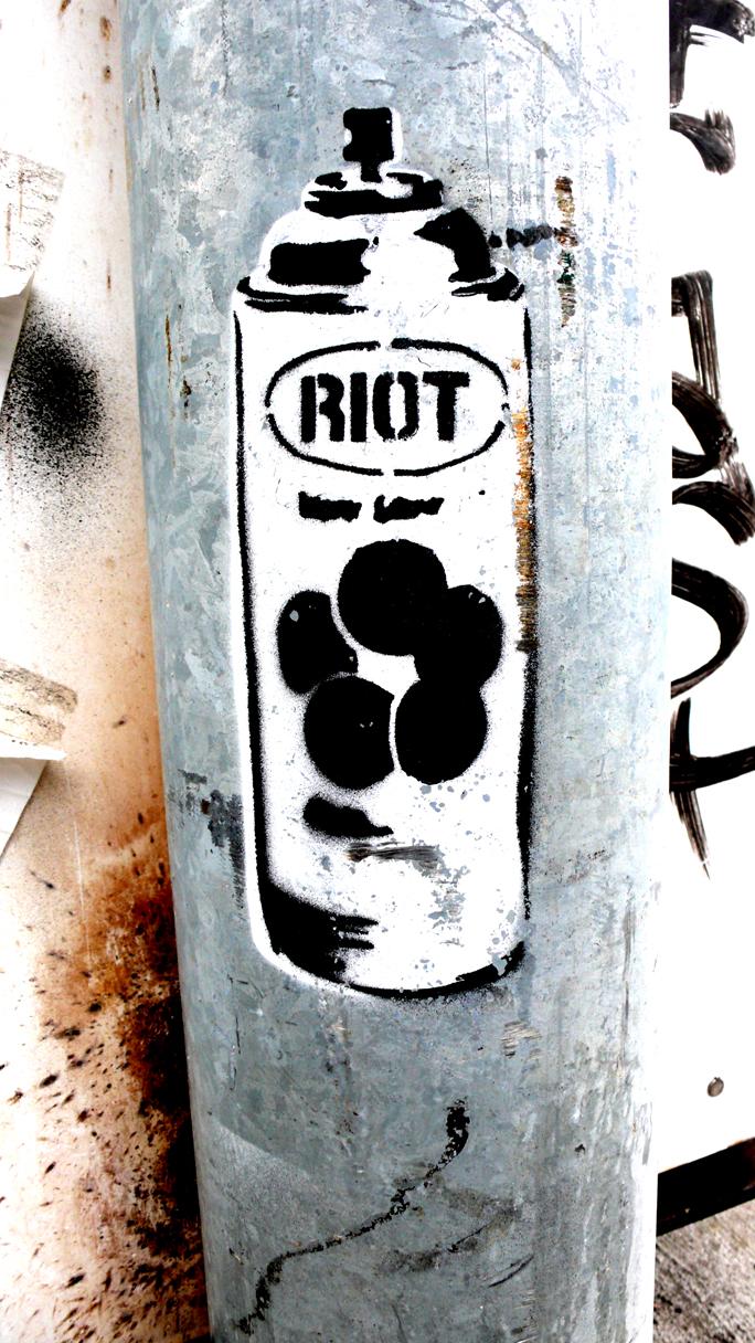 Riot Stencil