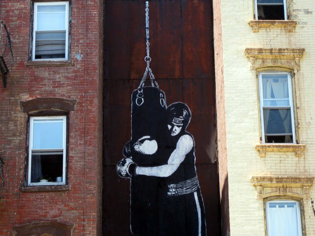 A KNOCKOUT! Excellent placement for this gigantic DOLK piece in BK!
