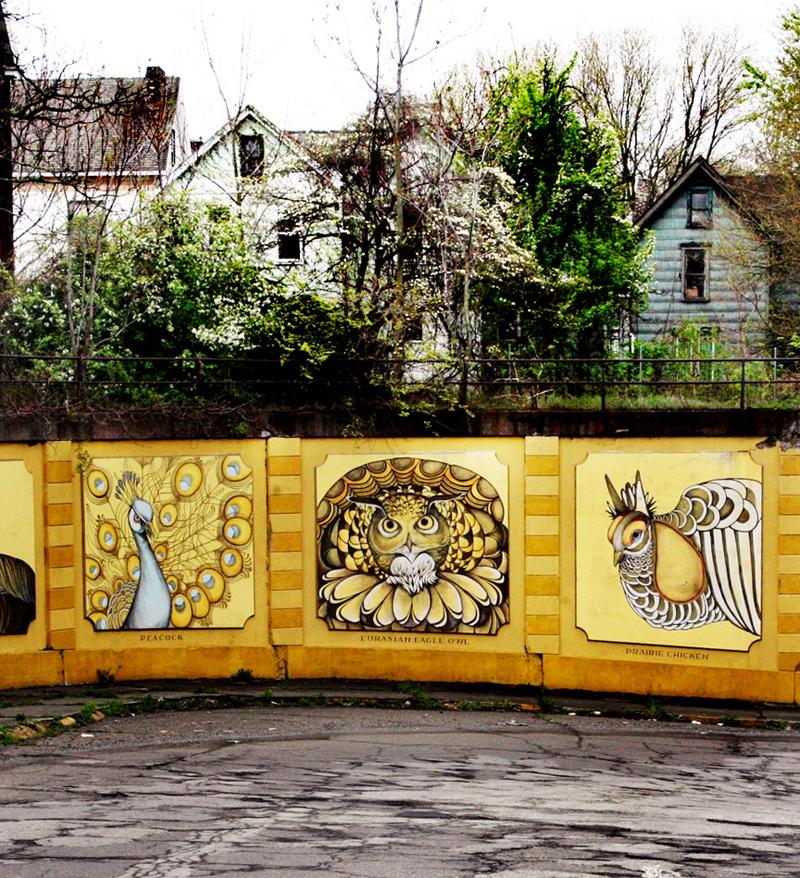 Braddock Street Art: A Town Ready for Renaissance : Brooklyn Street Art