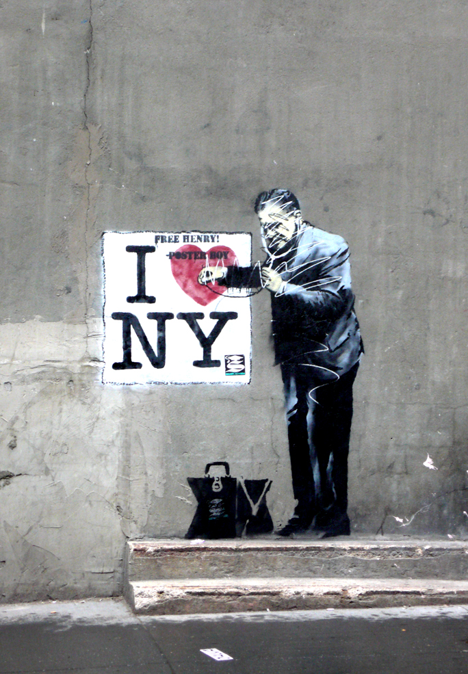 And we heart you back Banksy