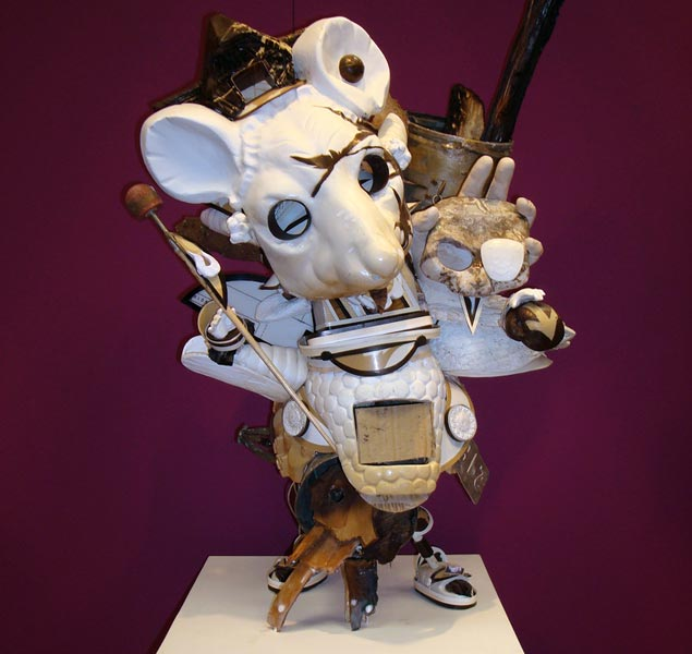 For all the toy fans here is a sculpture by Biserama (Alexander Becherer) at Stroke02 (© Don John)