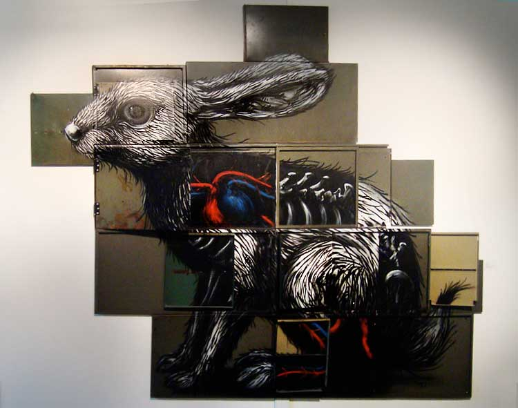 ROA created one of his rabbits  (© Don John)