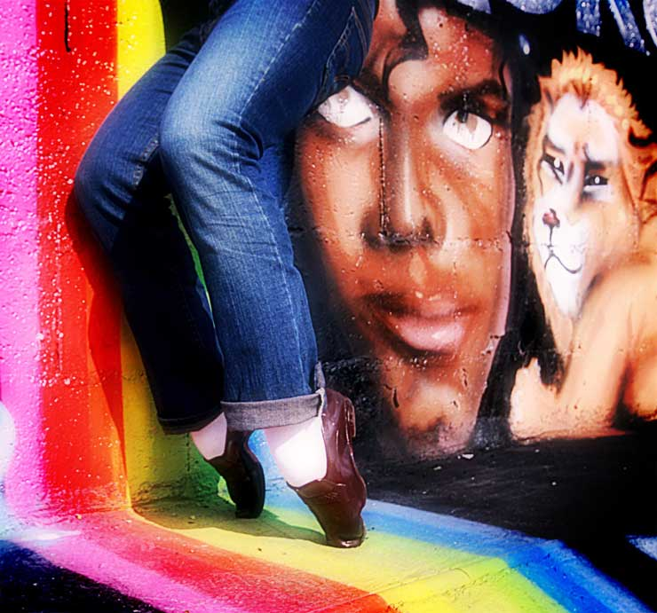 Brooklyn-Street-Art-copyright-Shygun-and-Keflione-michael-jackson-picture-dance-2