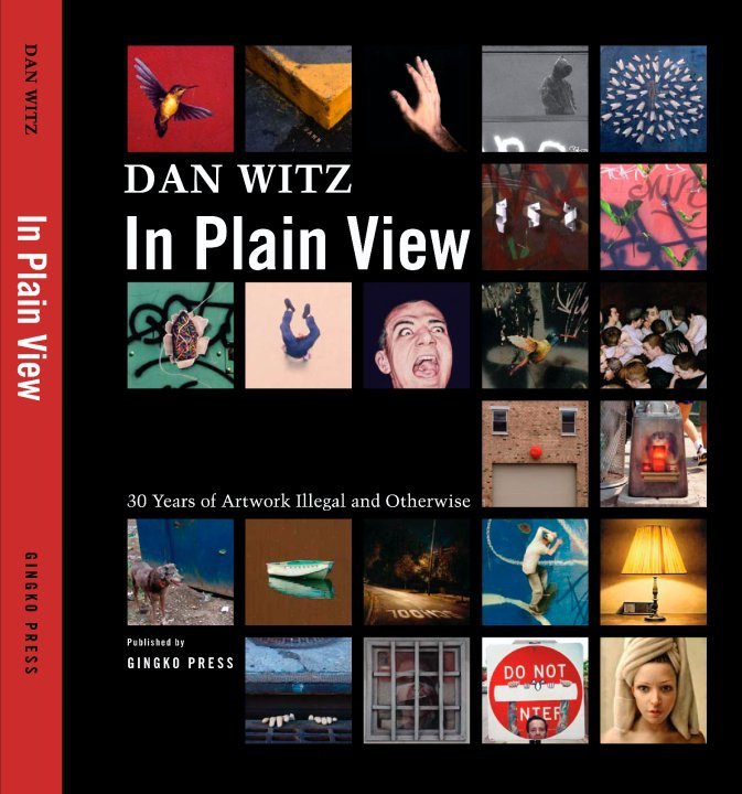 Dan Witz Will be Signing Copies of His New Book