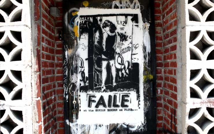 Faile Street Stencil (Photo © Jaime Rojo)