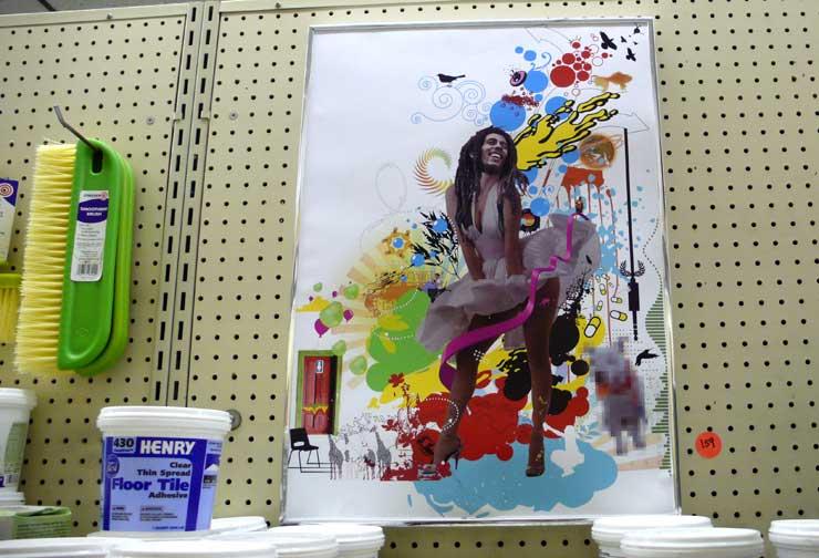 """Julian Zee """"Marulin Marley Will Kill Pop Art"""" (Photo © Jaime Rojo)"""