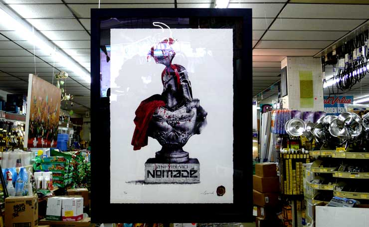 "Nomade ""Bust with Burgundy"" (Photo © Jaime Rojo)"