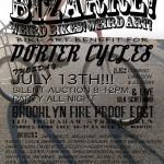 """""""Bizarre! Weird Bikes! Weird Art!"""" silent auction benefit at Brooklyn Fireproof"""