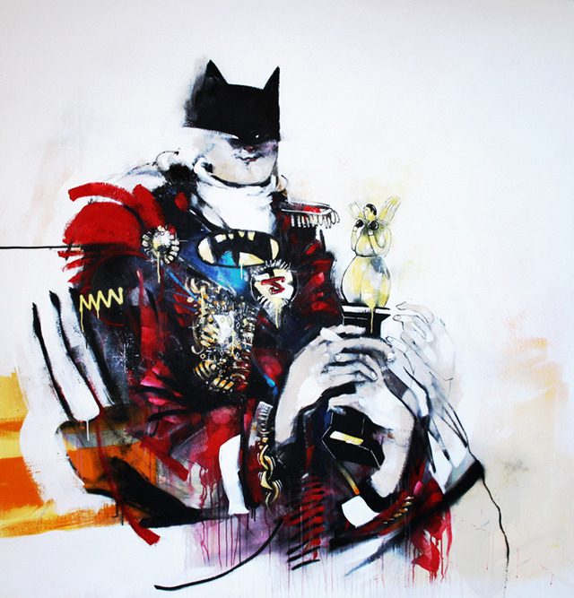 """Anthony Lister """"He Who Kneels In Darkness"""" 2010) Image Courtsey of the Gallery"""