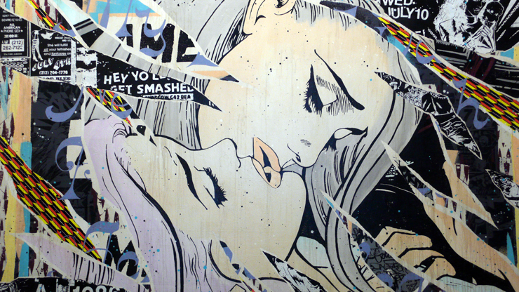"Faile Detail ""Never Enough"" (Photo © Jaime Rojo)"
