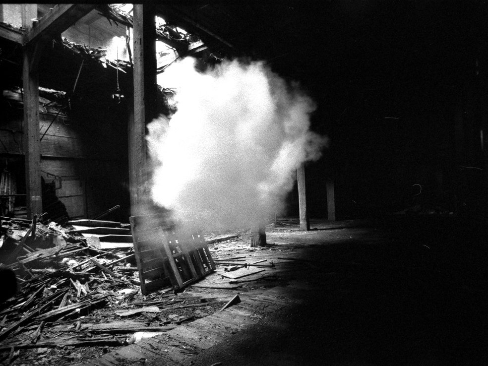 Jaime Rojo. Untitled. Greenpoint Old Rope Factory. 2003