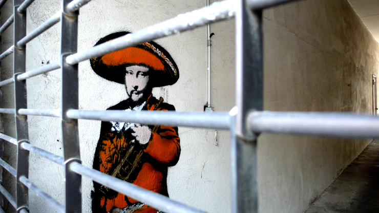 Nick Walker Mariachi Behind Bars (Photo © Jaime Rojo)
