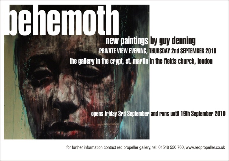 Red Propeller Gallery Presents: Guy Denning: