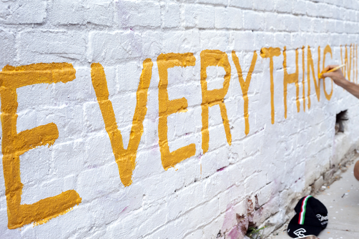 "Kofke: ""Everything Will Be Okay"". That\'s a Relief! : Brooklyn Street Art"