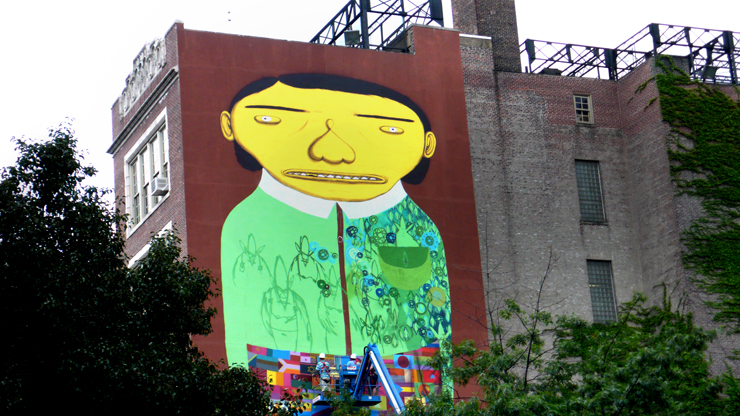 Interview: Os Gemeos, Futura & Martha Cooper At PS 11 In NYC: Day 3