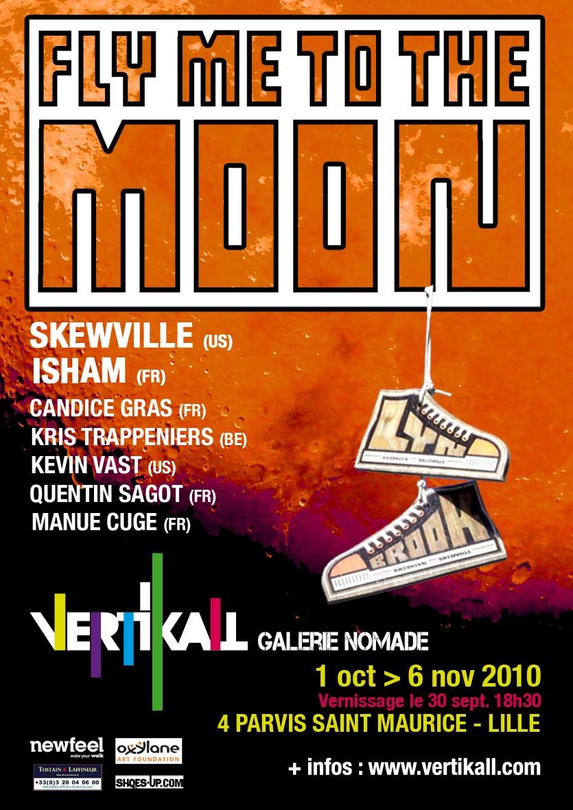 Vertikall Gallery Presents: Skewville, Isham, Candice Grass, Kris Trappeniers, Kevin Vast, Quentin Sagot, Manue Cuge