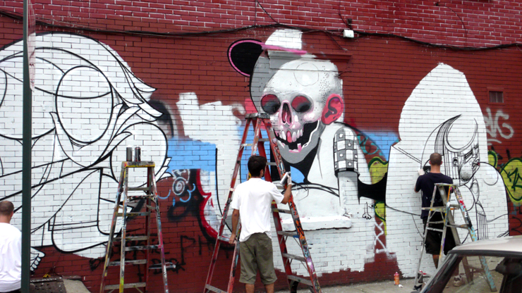 Tats Cru. How &amp; Nosm with Aryz. ( Jaime Rojo) 