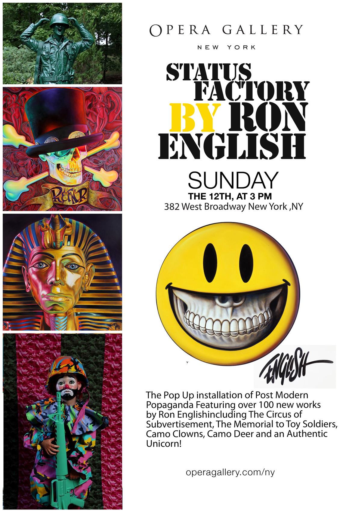 Opera Gallery NY Presents: Ron English
