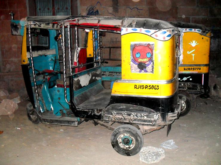 Bortusk Leer, Rickshaw. Jodpur