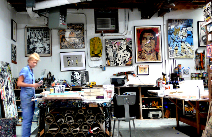 Faile Studio. Print Shop. (Photo © Jaime Rojo)