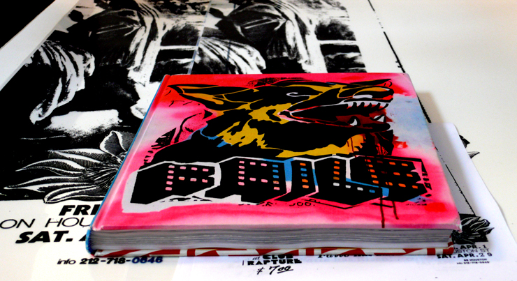"Faile Book Cover: ""Faile Prints And Originals 1999-2009"" (Photo © Jaime Rojo)"