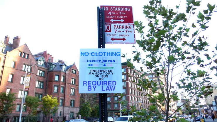 Rules and Regulations of NYC (Photo © Jaime Rojo)