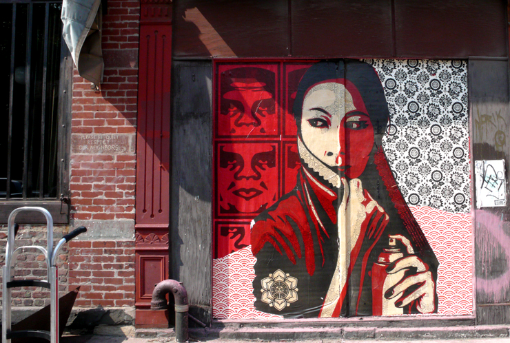 Shepard Fairey (Photo © Jaime Rojo)