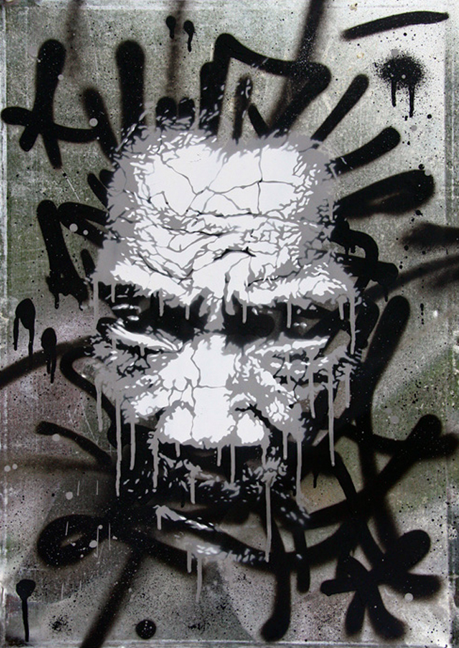 Martin Whatson. Image Courtesy of Samantha Longhi. Stencil History X