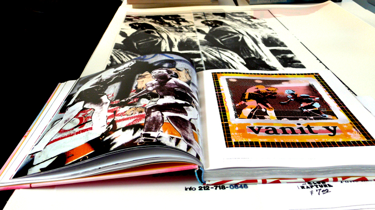 Faile Prints And Originals 1999-2009. A Peak Inside The Book (Photo © Jaime Rojo)