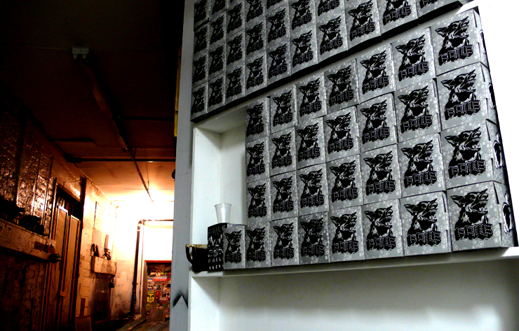 Faile. Enter To The Gift Shop. (Photo © Jaime Rojo)