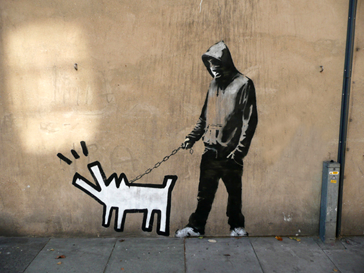 Bansky in London (Photo © Pau Nine O)