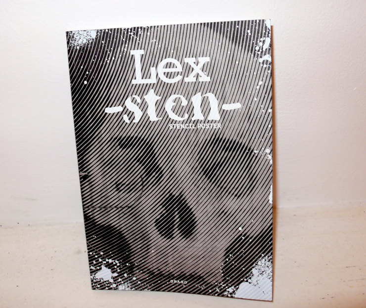 "Sten & Lex ""Lex-Sten"" Book from Drago will be available for purchase at the opening (Photo © Jaime Rojo)"