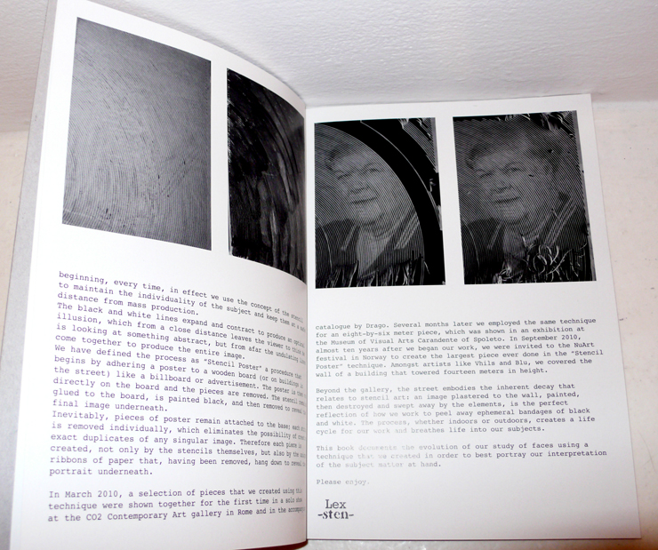A peak inside the book. (Photo © Jaime Rojo)