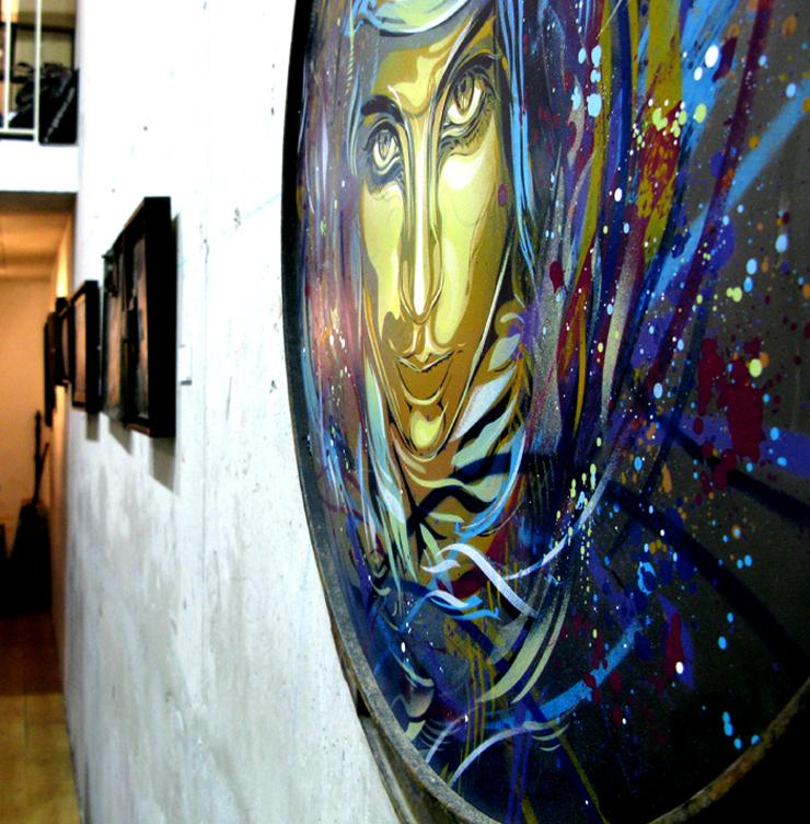 brooklyn-street-art-C215 Community-Service-vue accrochage-1-courtesy Galerie-Itinerrance-web