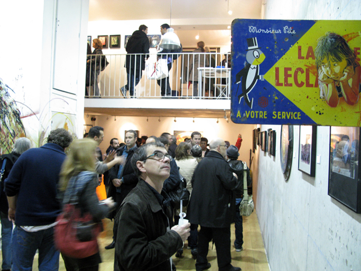 brooklyn-street-art-C215 Community Service-vue- de-vernissage-courtesy Galerie-Itinerrance-web