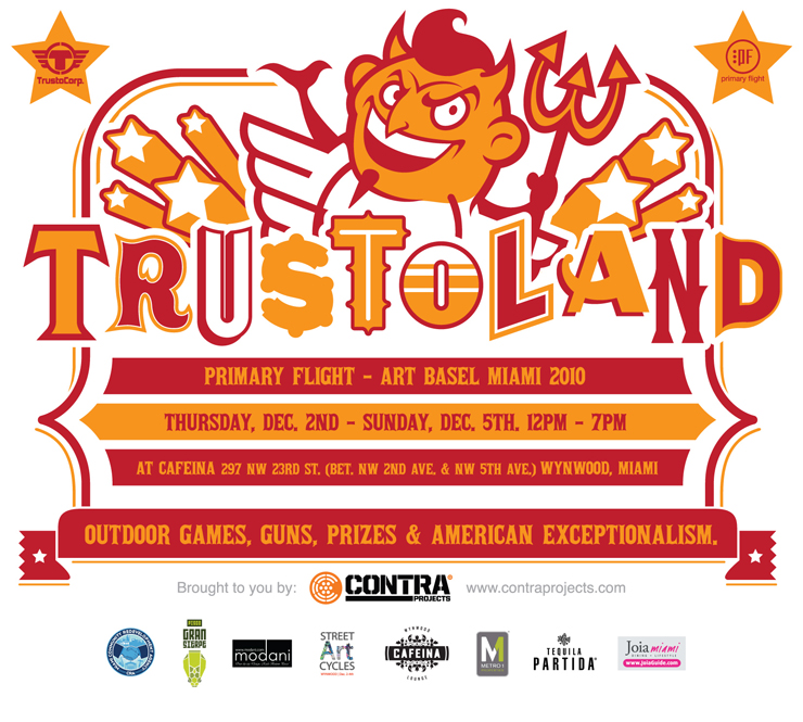brooklyn-street-art-TRUSTOLAND_FLYER_CAFEINA-miami-2010-primary-flight-art-basel