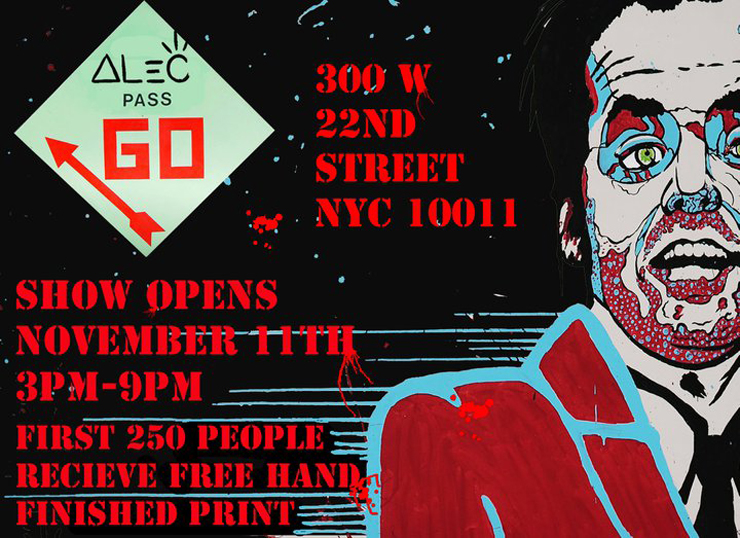 Andon Artists Presents: Alec Monopoly Solo Show (Manhattan, NY)