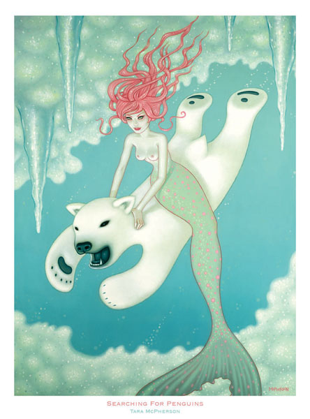 tara mcpherson searching for penguins