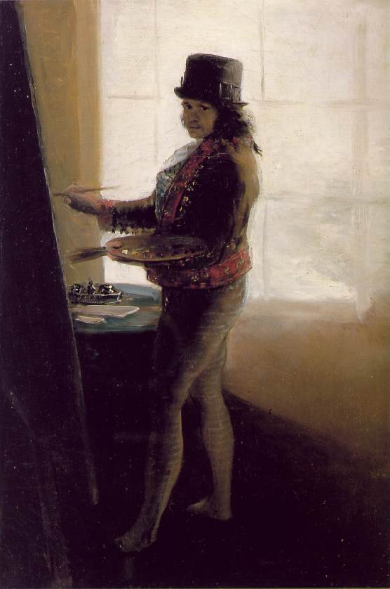 Brooklyn-Street-Art-Goya- Self-Portrait in the Workshop, 1795