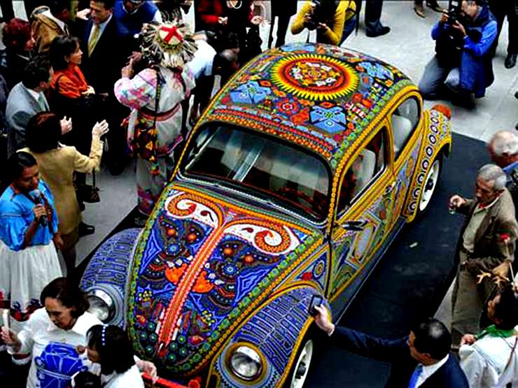 brooklyn-street-art-vochol-Volskwagen-mexico-huicholes
