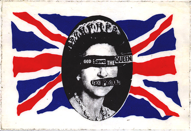 Brooklyn-Street-Art-God-Save-Queen-copyright-jamie-reid-sex-pistols
